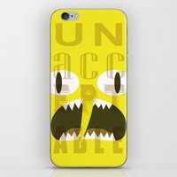 lemongrab iPhone & iPod Skins featuring Lemongrab Typography by Aaron Bowersock