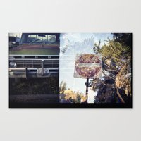 ford Canvas Prints featuring Ford by Ryan Helfant