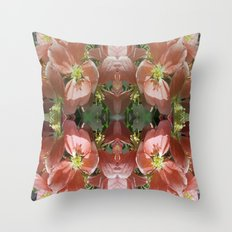 Flowers and more flowers Throw Pillow