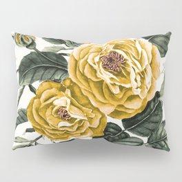 Yellow Roses Pillow Sham