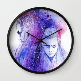 In Starlight Wall Clock
