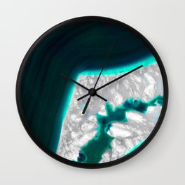 Fluo Agate Wall Clock