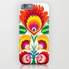 Folk flowers Slim Case iPhone 6