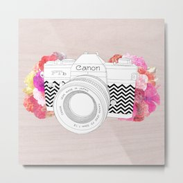 BLOOMING CAN0N Metal Print