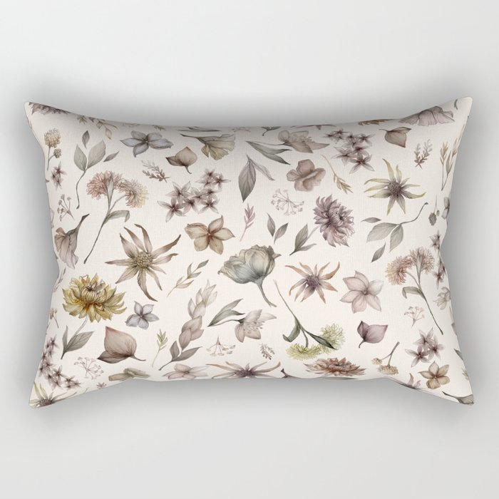 Botanical Study Rectangular Pillow