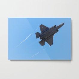 Lockheed Martin F-35 Lightning II Fly-By Metal Print