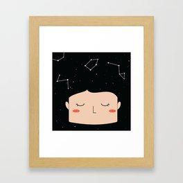 blackspace Framed Art Print