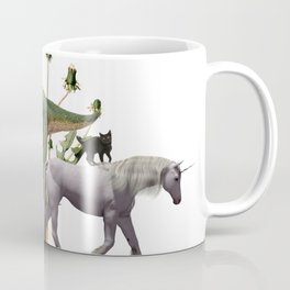 For Belly Dance Students: The Flora and Fauna of Composition Coffee Mug