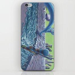POEM OF FLOOD iPhone Skin