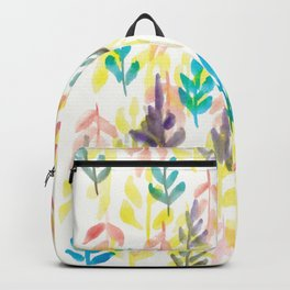 180726 Abstract Leaves Botanical 7|Botanical Illustrations Backpack