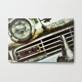 {miles and miles} Metal Print
