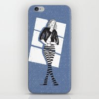 striped iPhone & iPod Skins featuring STRIPED by Analu Louise