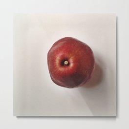 Red Pear Metal Print