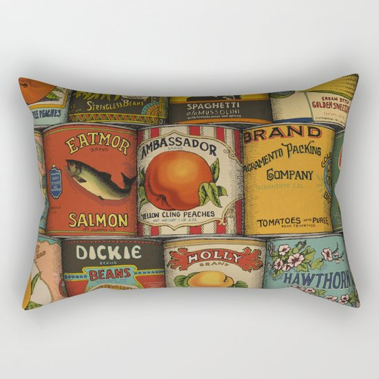 Canned in the USA Rectangular Pillow