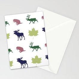 Fur Trader Print Stationery Cards