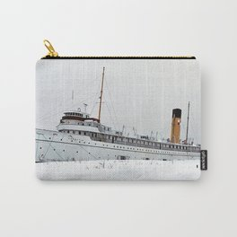 SS Keewatin in Winter White Carry-All Pouch