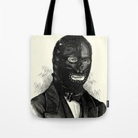 bdsm Tote Bags featuring BDSM XXXIV by DIVIDUS