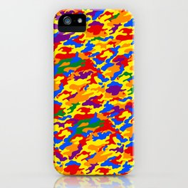 Homouflage Gay Stealth Camouflage iPhone Case
