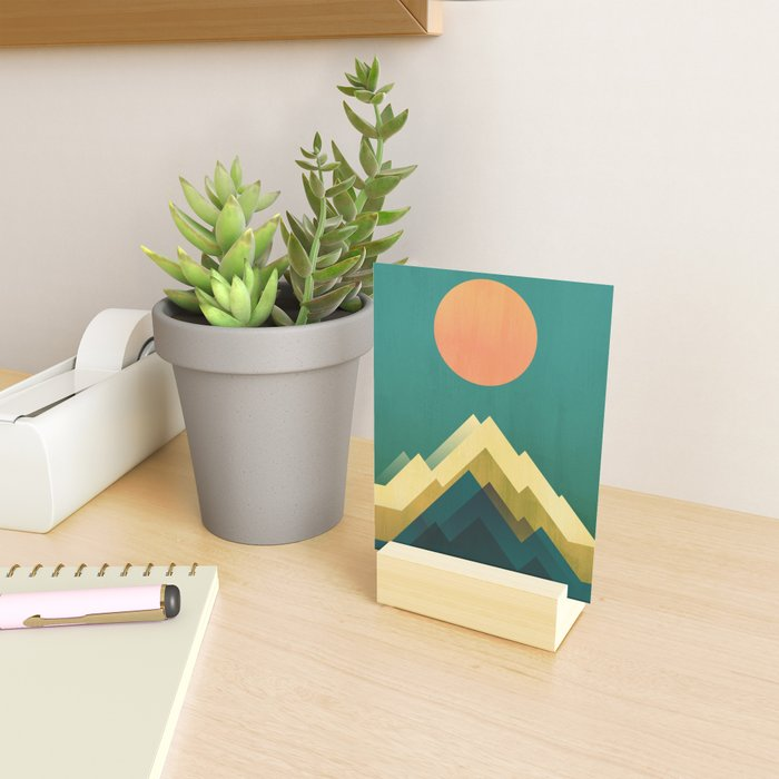Gold Peak Mini Art Print