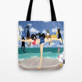 T as in Turkey Tote Bag