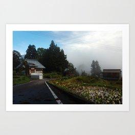 Mushigame Morning Art Print