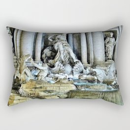 Rome, Italy - Trevi Fountain Rectangular Pillow