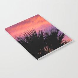 Palm Sunset - 7a Notebook