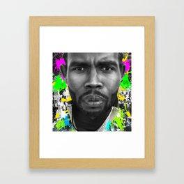Simon Says Framed Art Print