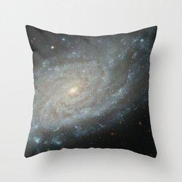 Spiral Galaxy, NGC 3370 Throw Pillow