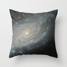 Spiral Galaxy, NGC 3370 Throw Pillow