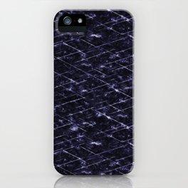 Hornfels 01 - deep indigo texture iPhone Case