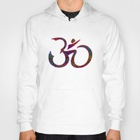om Hoodies featuring OM by Tali Rachelle