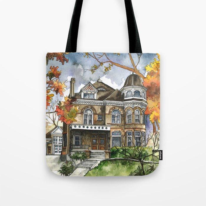 Victorian Autumn Tote Bag