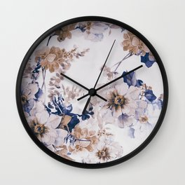 FLORAL PATTERN31 Wall Clock