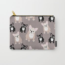French Bulldog Puppies Carry-All Pouch