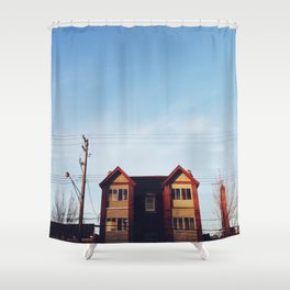 Merriman Apts - Ferndale, MI Shower Curtain