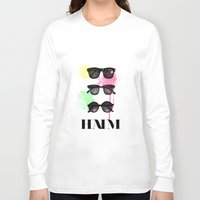 haim Long Sleeve T-shirts featuring Haim (colour version) by Mariam Tronchoni