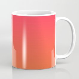Ombre Candy Apple Coffee Mug