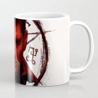 demon Mugs featuring Demon by DartFushka