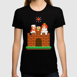Mario & Peach castle T-shirt