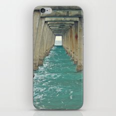 Ocean Pier iPhone & iPod Skin