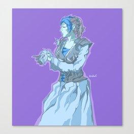Ice Queen Requiem Canvas Print