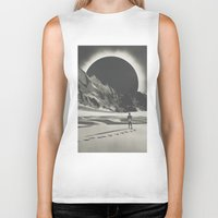 interstellar Biker Tanks featuring Interstellar by Douglas Hale