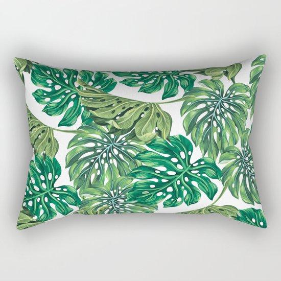 tropical haven Rectangular Pillow