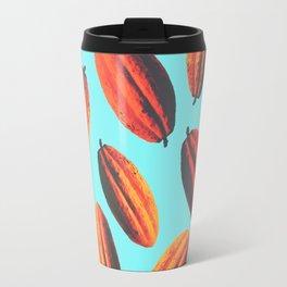 cacao fruit in New York Travel Mug