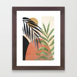 Abstract Tropical Art VI Framed Art Print
