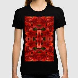 """A Gathering of Lilies"" Remix - 1 (2-1) [D4465~12] T-shirt"