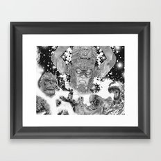Villains Framed Art Print