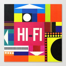 HI-FI Canvas Print