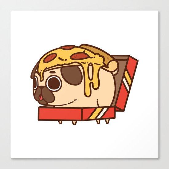 Puglie Pizza Canvas Print